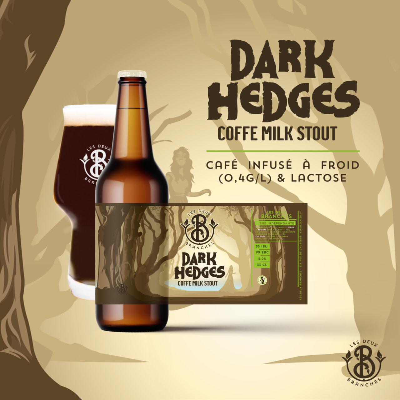 Bière brune Dark Hedges