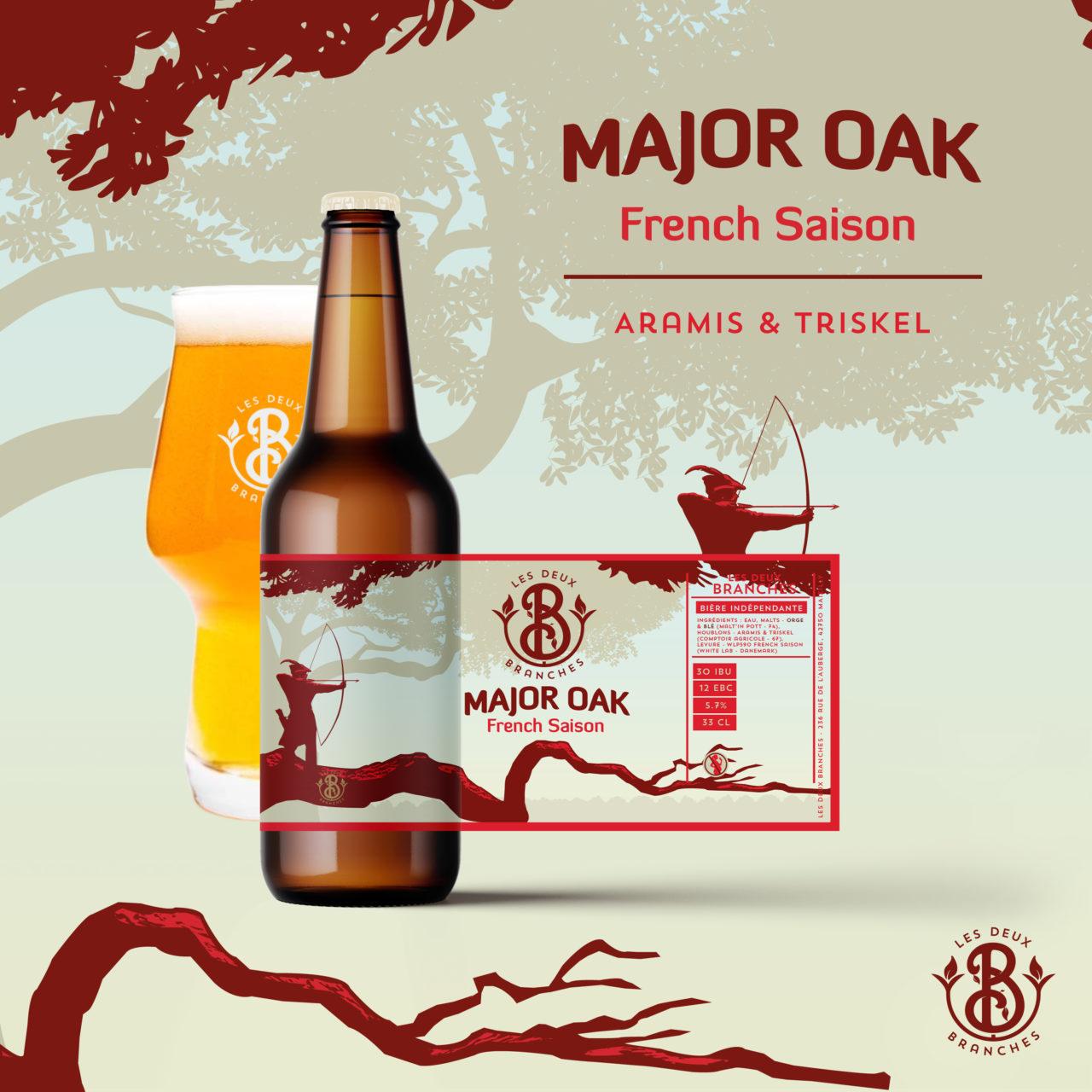 bière blonde major oak